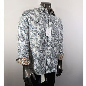 Robert Graham Paisley multi color button down